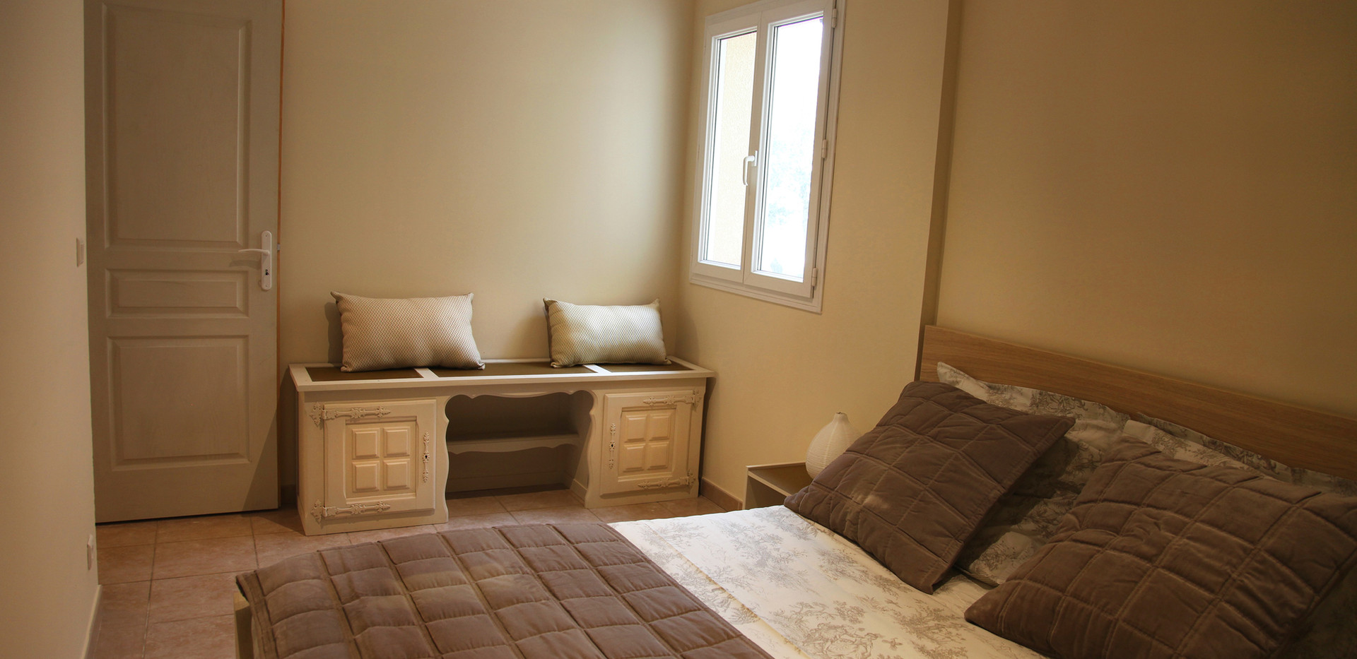 Appartement F3 - Chambre