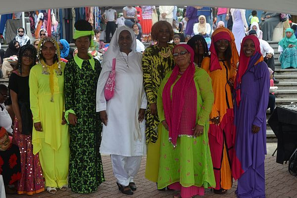 The Philadelphia Tribune Covered Saba Islamic Fashion Show's Presentation at the 22nd Islamic Herita
