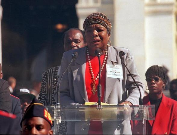 Minister Louis Farrakhan's Statement on Dr. Maya Angelou