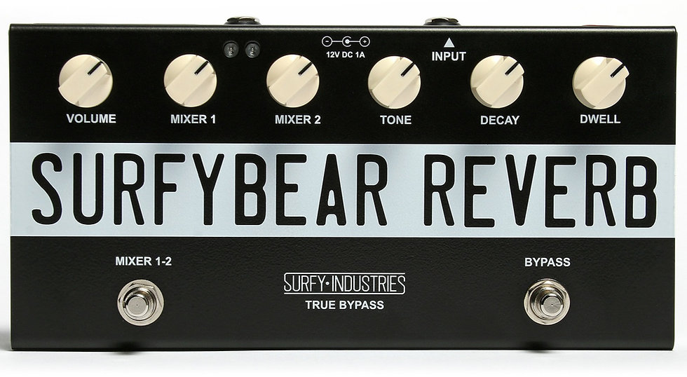 SurfyBear Reverb Units - Compact