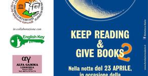 """Si legge in strada per la World Book Night: """"keep reading & give books"""" 2^ edition"""