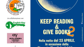 "Si legge in strada per la World Book Night: ""keep reading & give books"" 2^ edition"
