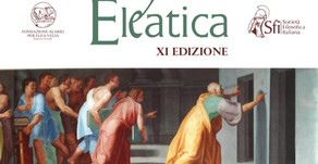 Eleatica 2019 | ARISTOTELE E GLI ELEATI
