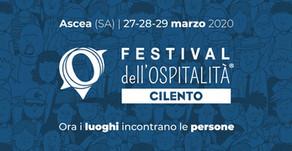 Festival dell'Ospitalità Cilento 2020   differimento iniziativa