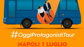 Servizio Civile Universale:  TOUR- OGGI PROTAGONISTI | Napoli 1 luglio 2019