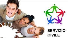 SERVIZIO CIVILE UNIVERSALE: procedure di selezione per 12 volontari