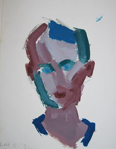 CHATTAWAY_William._Gouache_sur_papier.__