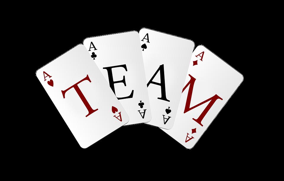 """Spielkarten """"Team"""""""