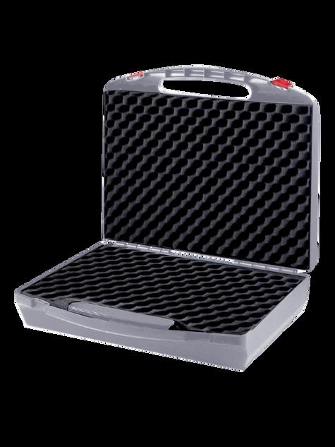 Präsentations-Koffer Grau