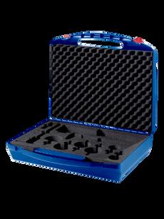 Präsentations-Koffer Blau