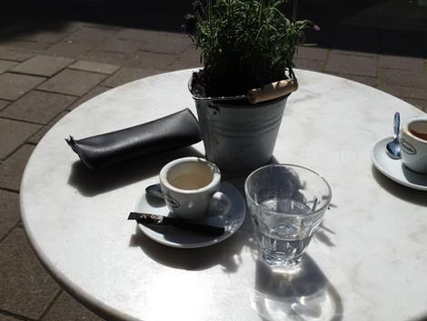 Niet de koffie maar de hele ervaring.