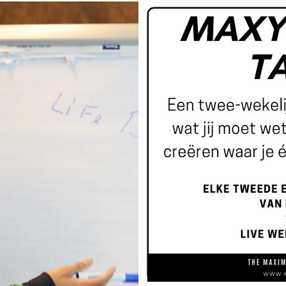 Maxyourlife Talks - Hoe jij deze crisis kunt gebruiken om te groeien