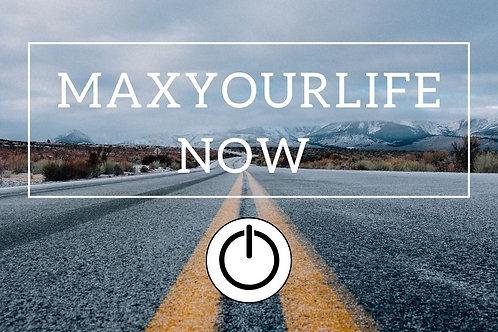 Online Course - Maxyourlife.now