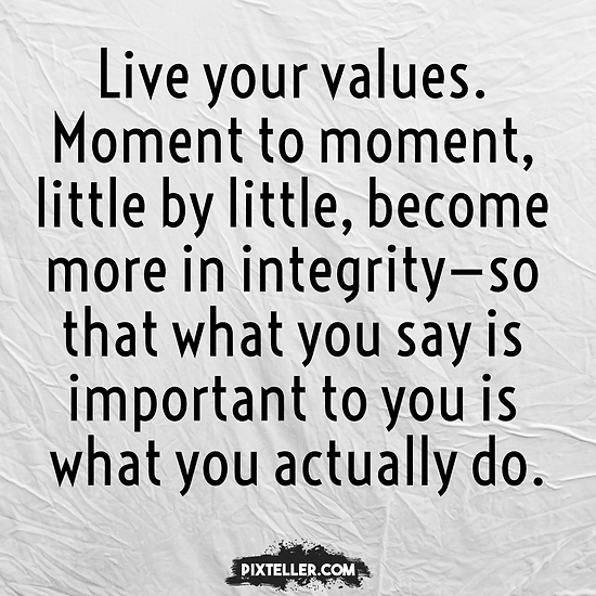 Image result for live to your values