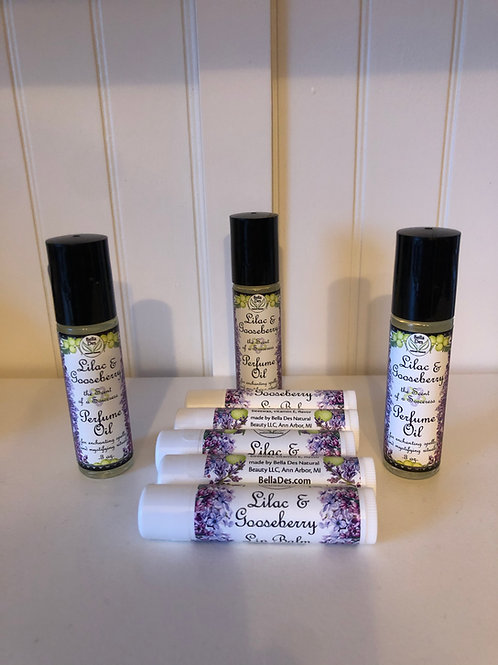 Lilac and Gooseberries Lip Balm