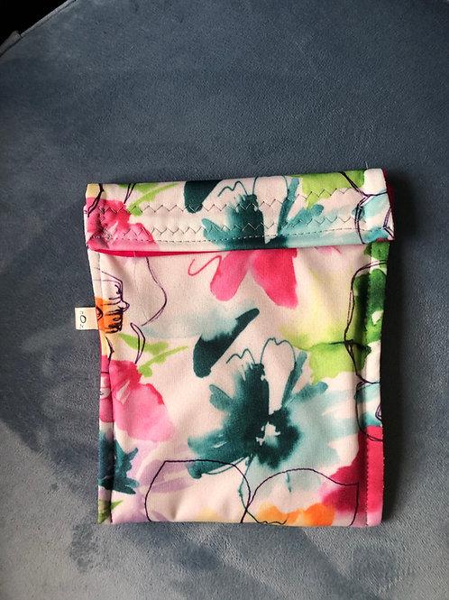 Large Flower Reusable Bag
