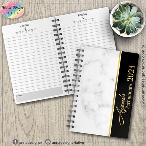 Agenda permanente 1 dia por página neutro 01