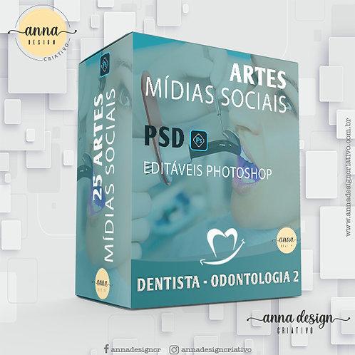 Pack artes mídias sociais - Dentista2