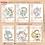 Thumbnail: Coleção signos cute clean 1 - Capas e contra capa
