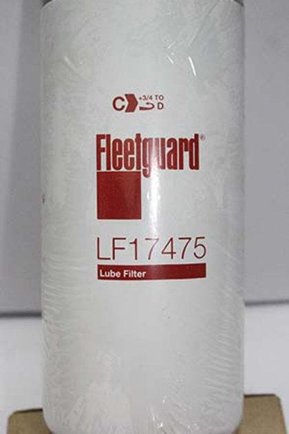 Filtro de Óleo Lubrificante - Fleetguard LF17475