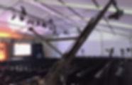 Camera crane jib for multi-cam event