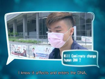 Will mRNA vaccins change human DNA?