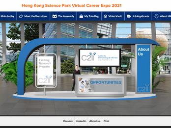 C2I At The Hong Kong Science Park Virtual Career Expo 2021