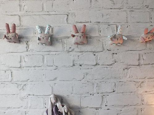 Cute Rabbit Garland