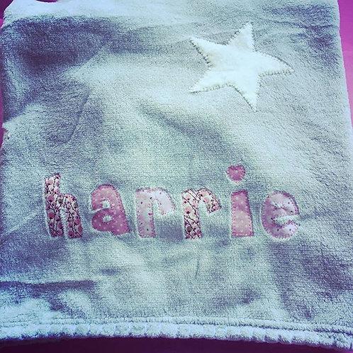 Personalised Fleece Blanket