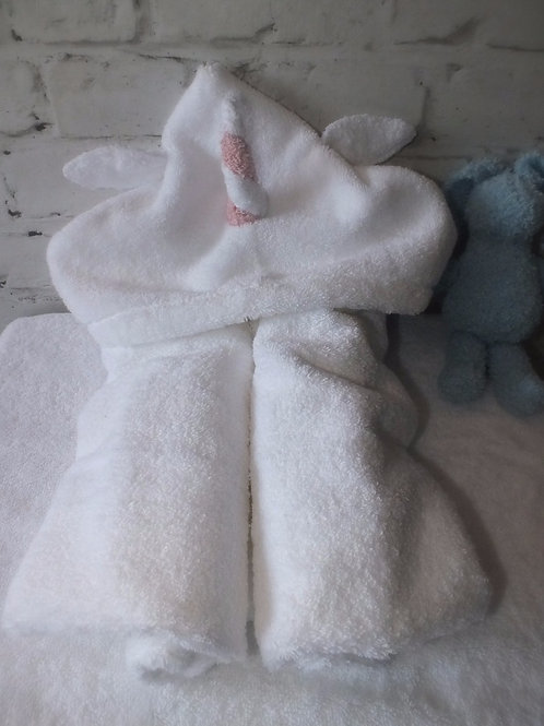 Unicorn Toddlers Hooded Towel