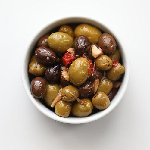 Olives marinées (250g)