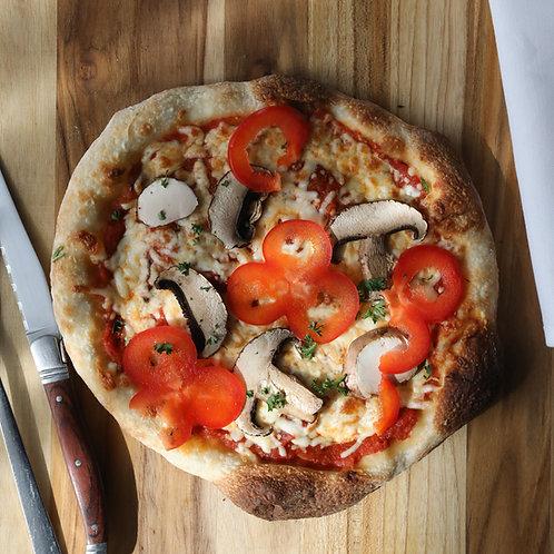 pizza 8 pouces garnie