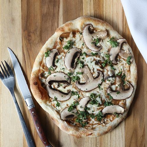 Pizza 8 pouces aux champignons
