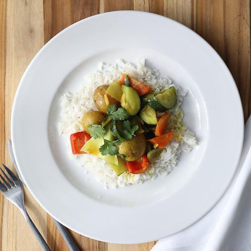 curi de légumes