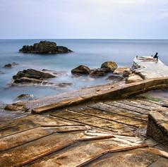 Cinque Terre - Corniglia, sur la jetée