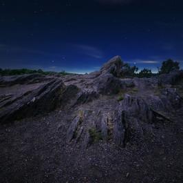 Nuit sur les Hauts de Brocéliande