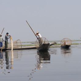 birmanie pecheurs