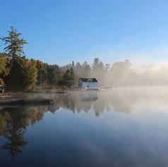 Brume-sur-le-lac