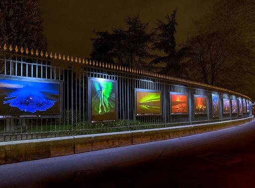 """Exposition """" Origines """"aux jardins du Luxembourg à Paris."""