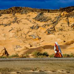 La passante du désert