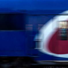 Croisement de train