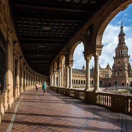Séville - Place de l'Espagne