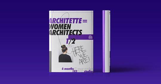 #book #genderequity #Architette=Women Architects