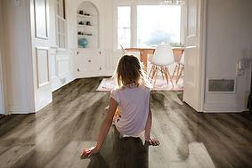 海德堡棕橡;SPC地板;石塑地板