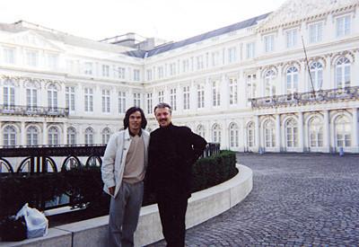 1999年 マルク・グローウェル氏との演奏旅行で