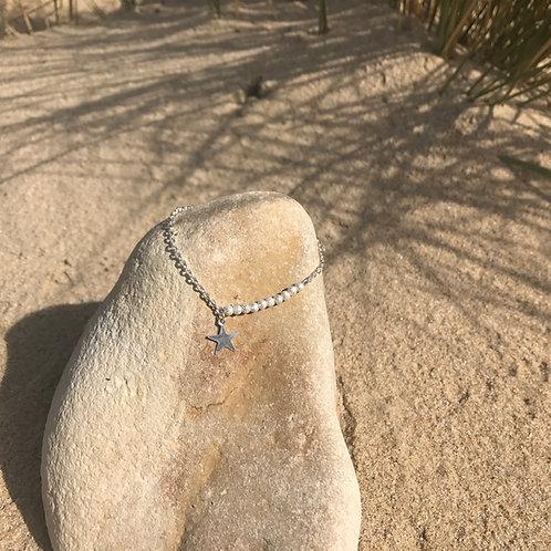 """Bracelet """" Le scintillant """" en argent massif"""