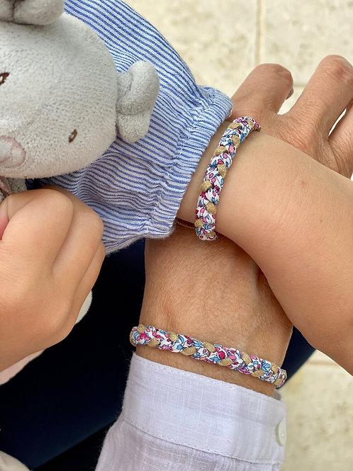 Box maman/bébé en Liberty Katie and Millie Rose