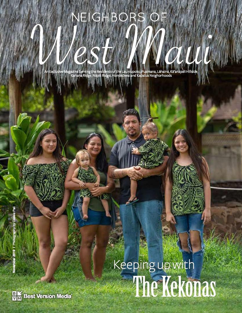 Neighbors of West Maui November 2019 Kekona