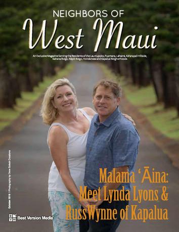 Neighbors of West Maui October 18 Lyons Wynne