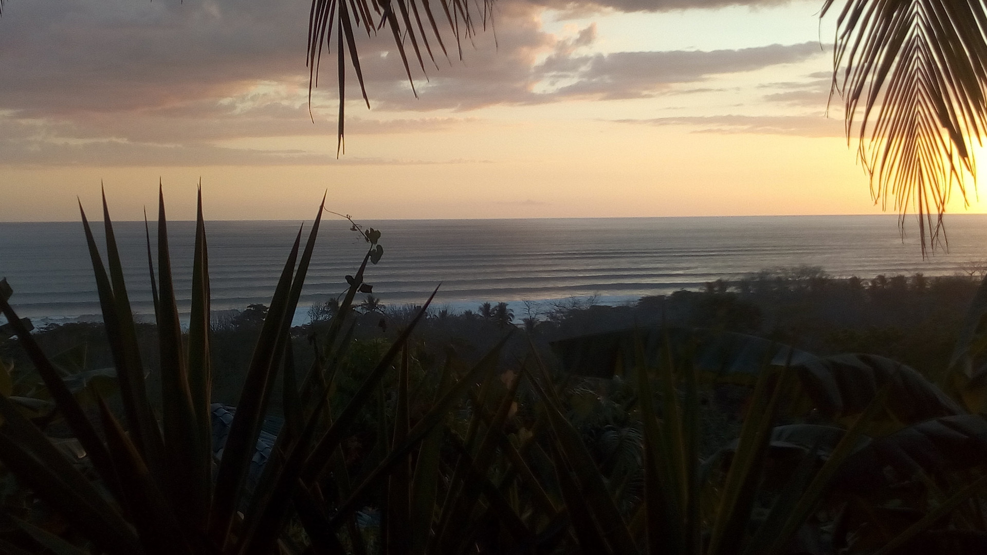 Costa Rica Santa Teresa Hill View